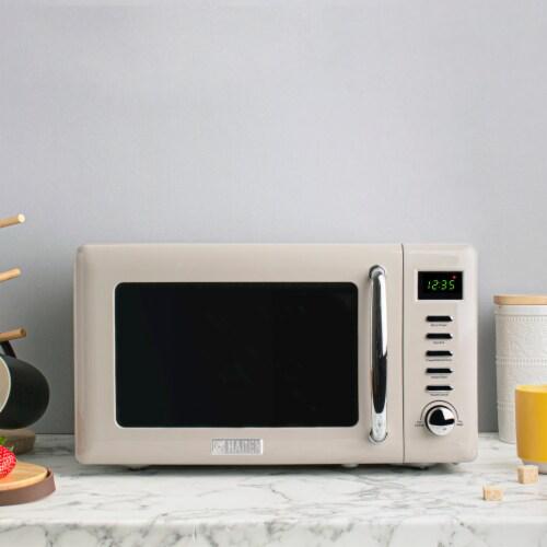Haden Dorset Microwave - Putty Perspective: top