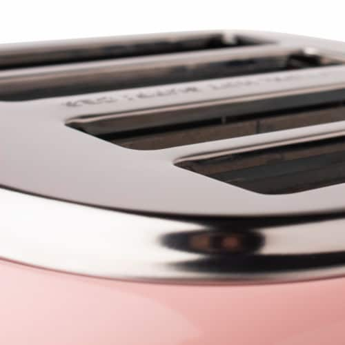 Haden Heritage 4-Slice Toaster - English Rose Perspective: top
