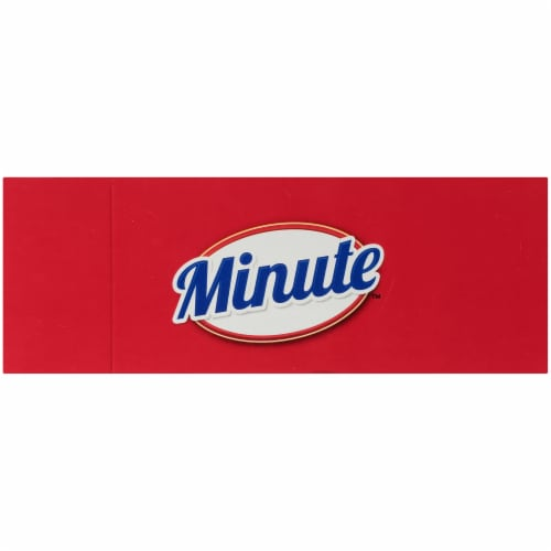 Minute Instant Long Grain White Rice Perspective: top