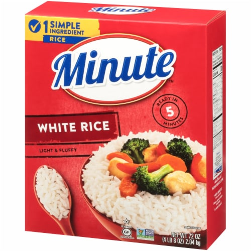 Minute White Rice Perspective: top