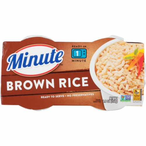 Minute Ready to Serve Brown Rice Cups Perspective: top