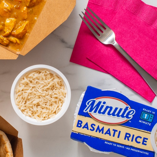 Minute™ Ready to Serve Basmati Rice Perspective: top