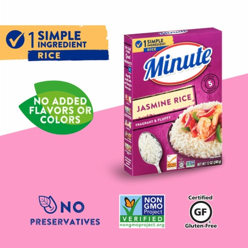 Minute Instant Jasmine Rice Perspective: top