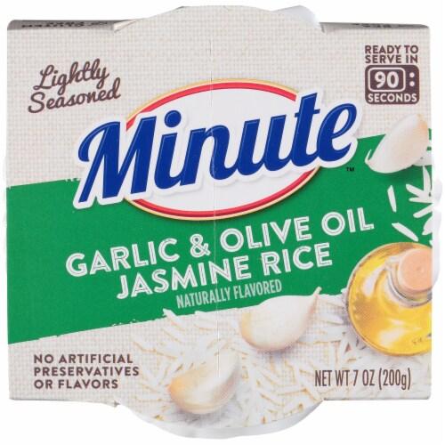Minute™ Garlic & Olive Oil Jasmine Rice Perspective: top