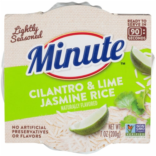 Minute Cilantro & Lime Jasmine Rice Perspective: top