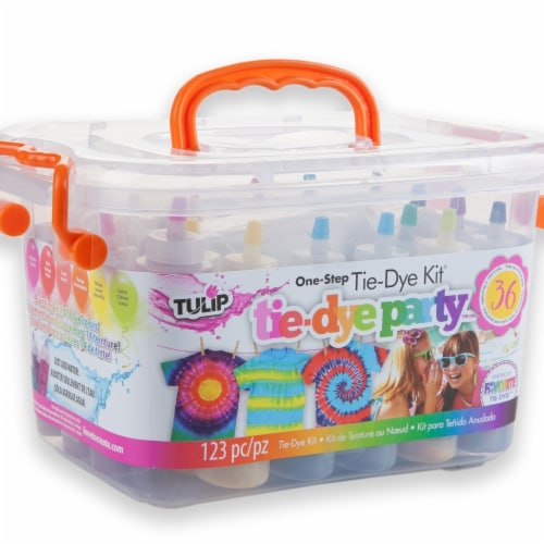 Tulip One Step Tie Dye Kit 18 Assorted Colors Perspective: top