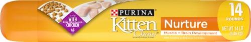 Kitten Chow Nurture Dry Kitten Food Perspective: top