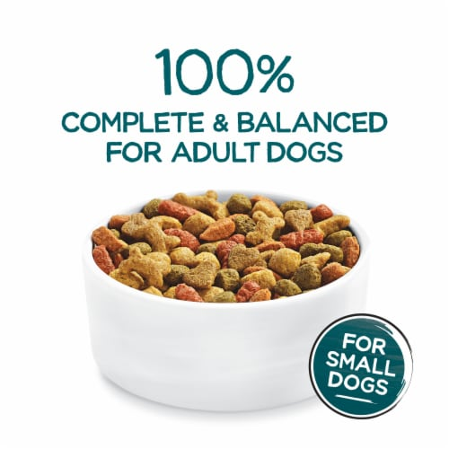 Beneful IncrediBites with Real Beef Small Breed Dry Dog Food Perspective: top