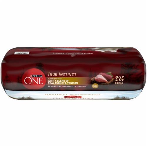 Purina ONE SmartBlend True Instinct Turkey & Venison Natural Dry Dog Food Perspective: top