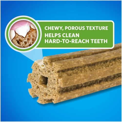 DentaLife Large Daily Oral Care Dog Treats Perspective: top