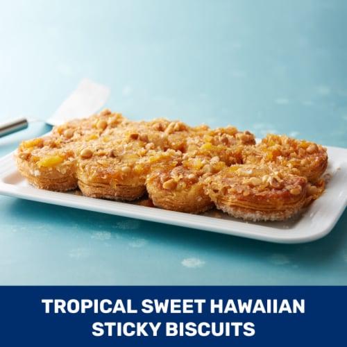 Pillsbury Grands Sweet Hawaiian Flaky Layers Biscuits Perspective: top