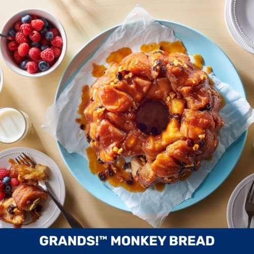 Pillsbury Buttermilk Flaky Layers Biscuits Perspective: top