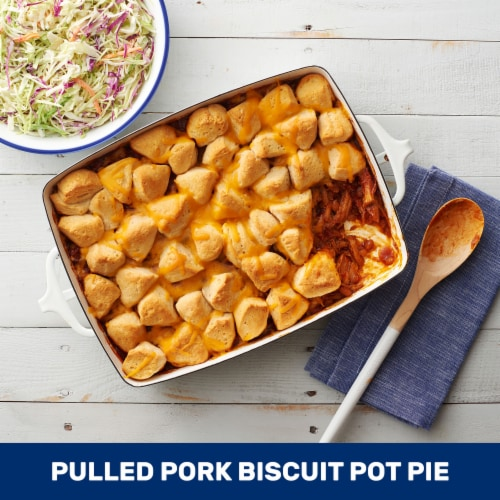 Pillsbury Grands Butter Tastin' Southern Homestyle Biscuits Perspective: top