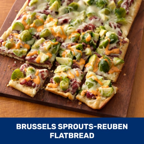 Pillsbury Thin Crust Pizza Crust Perspective: top
