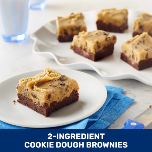 Pillsbury Chocolate Chip Cookie Dough Roll Perspective: top