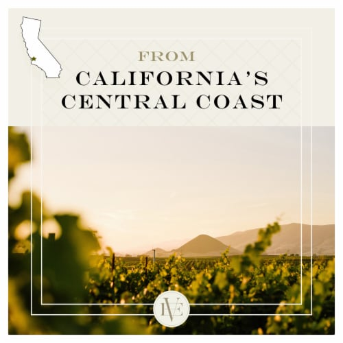 Edna Valley Vineyard Chardonnay White Wine Perspective: top
