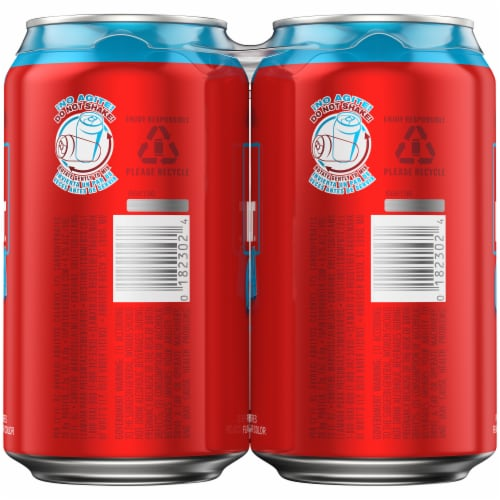 Bud Light & Clamato Chelada Flavored Lager Beer Perspective: top