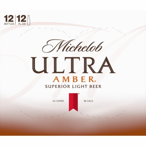 Michelob Ultra Amber Beer Perspective: top
