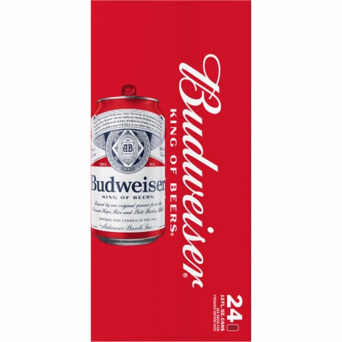 Budweiser Lager Beer Perspective: top