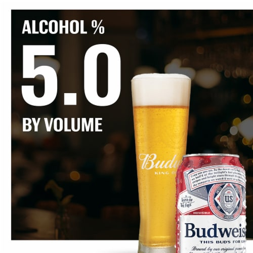 Budweiser® Lager Beer Perspective: top