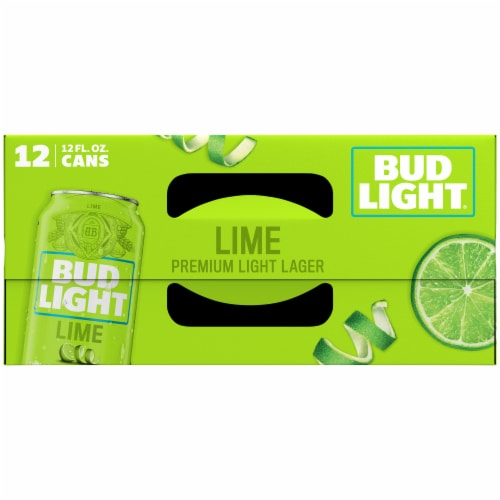 Bud Light Lime Lager Beer Perspective: top