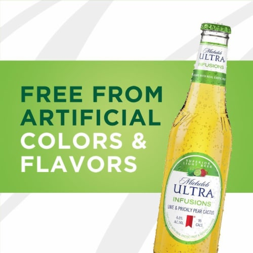 Michelob Ultra Lime Cactus Light Beer Perspective: top