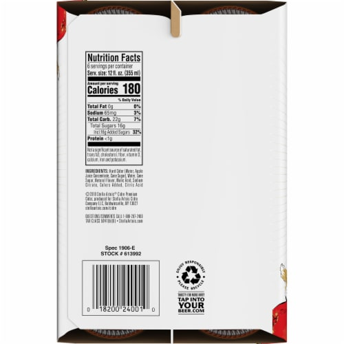 Stella Artois Premium Apple Cider Perspective: top
