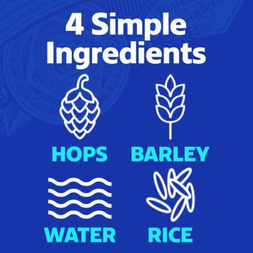 Bud Light Reclosable Beer Perspective: top
