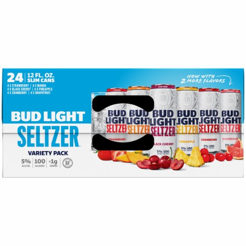 Bud Light Seltzer Variety Pack Perspective: top