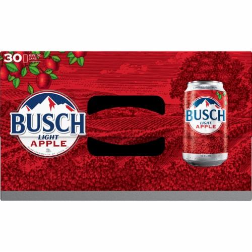 Busch Light Apple Beer Perspective: top