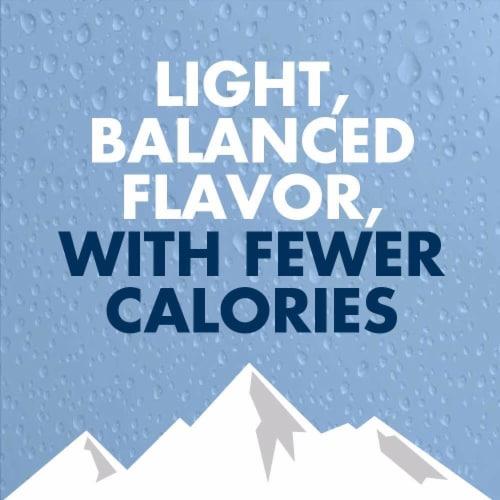 Busch Light Lager Beer Perspective: top