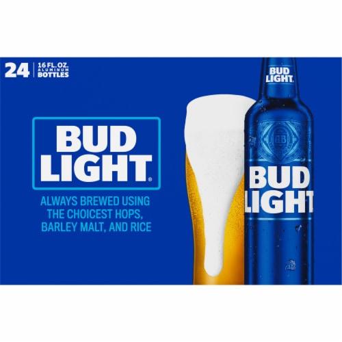 Bud Light Reclosable Aluminum Bottles Perspective: top