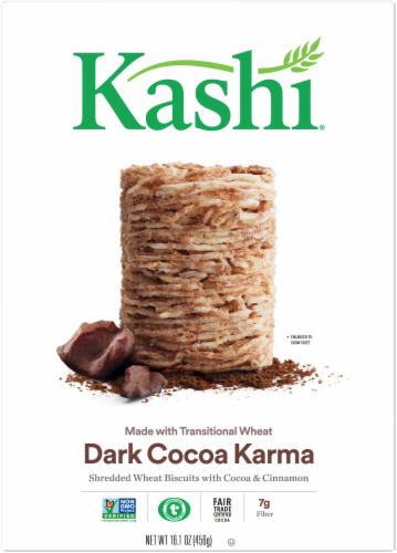 Kashi Dark Cocoa Karma Cereal Perspective: top