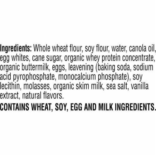 Kashi GO Vanilla Buttermilk Protein Waffles Perspective: top