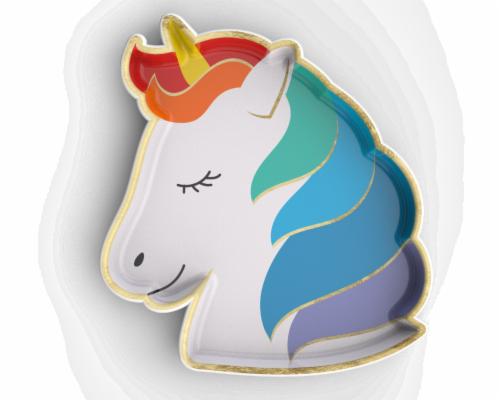 IG Design Unicorn Dish Perspective: top