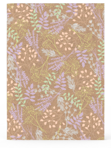 IG Design Floral Notebooks Perspective: top