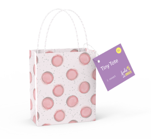 IG Design Tiny Tote Bag - Assorted Perspective: top