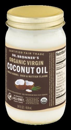 Dr. Bonner's Organic Virgin Coconut Oil Perspective: top