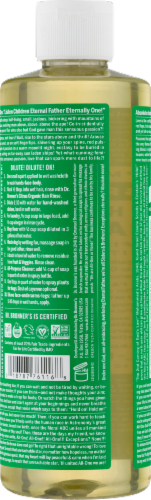 Dr. Bronner's 18-in-1 Hemp Almond Pure-Castile Liquid Soap Perspective: top