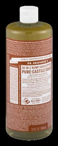 Dr. Bronner's 18-in-1 Hemp Eucalyptus Pure-Castile Liquid Soap Perspective: top