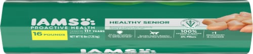 IAMS™ Proactive Health™ Healthy Senior with Chicken Dry Cat Food Perspective: top