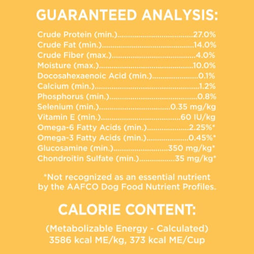 IAMS ProActive Chicken Health Smart Large Breed Dry Puppy Food Perspective: top