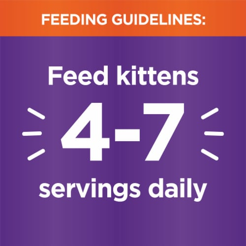 IAMS Perfect Portions Grain Free Pate Chicken Recipe Kitten Wet Food Twin Pack Perspective: top