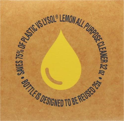 Lysol Smart Citrus Breeze Scent Multi Purpose Cleaner Kit Perspective: top