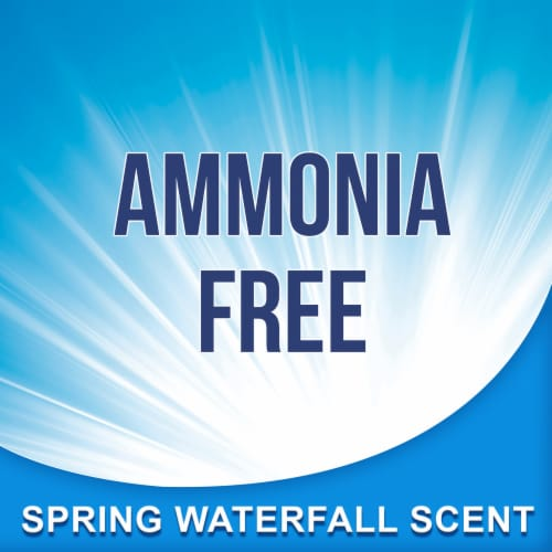 Glass Plus Ammonia Free Spring Waterfall Scent Glass Cleaner Perspective: top