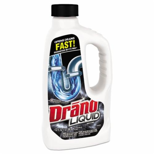Drano 32 Oz. Liquid Drain Cleaner 00116 Perspective: top