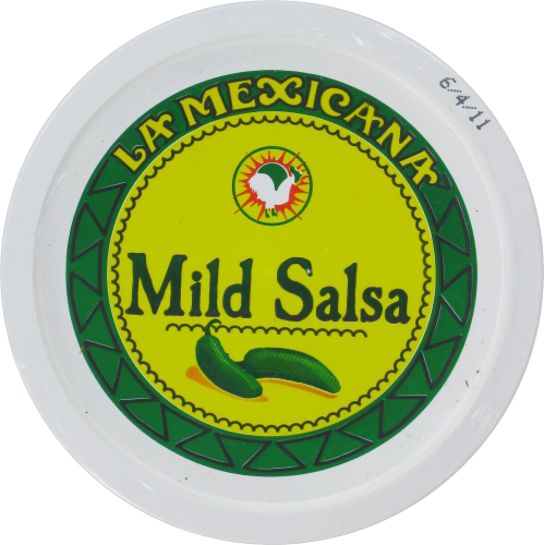 La Mexicana Mild Salsa Perspective: top