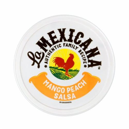 La Mexicana Peach Mango Salsa Perspective: top