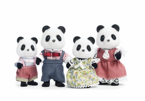 Calico Critters Wilder Panda Family Perspective: top