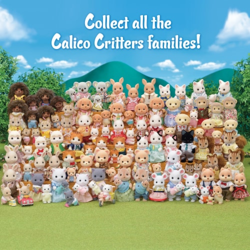 Calico Critters Pickleweeds Hedgehog Family Perspective: top